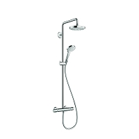 HG REF.27253400 SHOWERPIPE CROMA 180 SELECT S 2JETS BLANC CHR